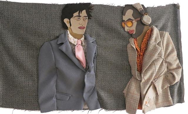 , 'Urban Tweed,' 2013, MUCA