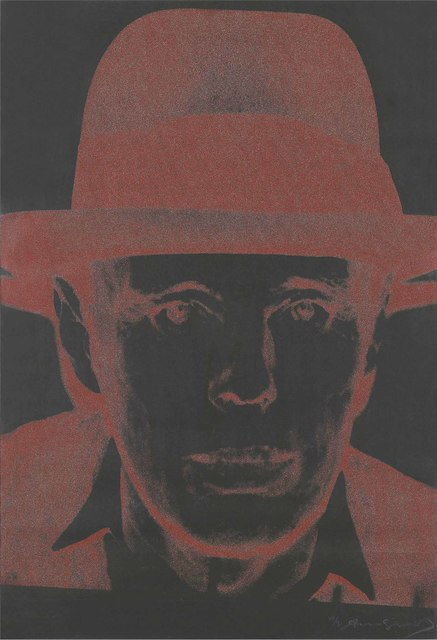 Andy Warhol, 'Joseph Beuys', 1980, Print, Screenprint in colours with diamond dust on Arches Cover Black paper, Christie's