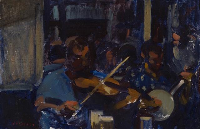 , 'Musicians,' 2015, Grenning Gallery