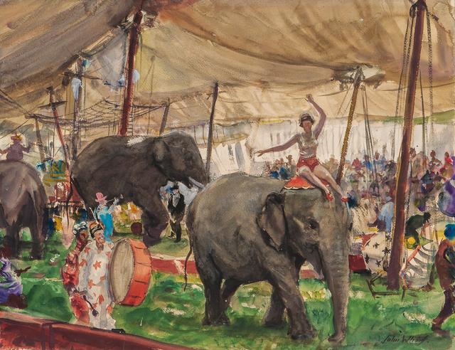 John Whorf, 'Country Circus', Skinner