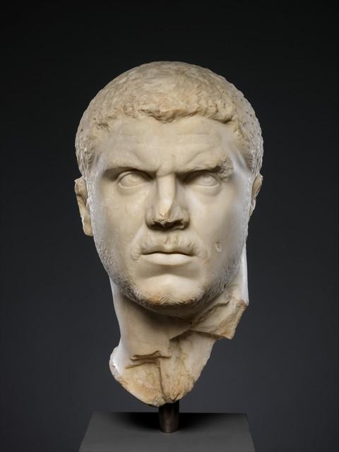 Unknown Roman, 'Marble portrait of the emperor Caracalla', 212–217, The Metropolitan Museum of Art