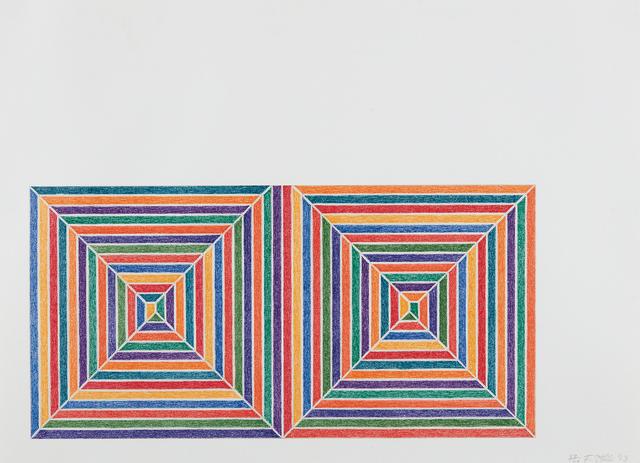 Frank Stella, 'Fortin de las Flores, from Jasper's Dilemma', 1973, Phillips