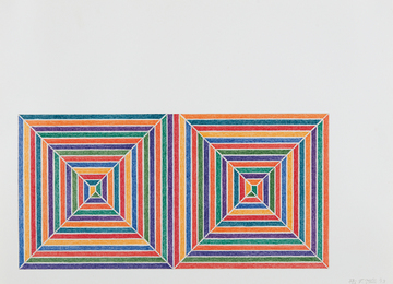 Frank Stella, 'Fortin de las Flores, from Jasper's Dilemma,' 1973, Phillips: Evening and Day Editions (October 2016)