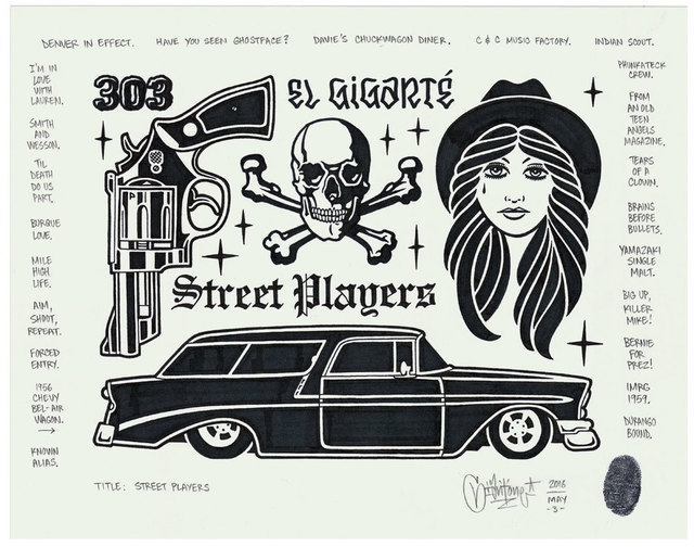 , 'Street Players,' 2016, Black Book Gallery