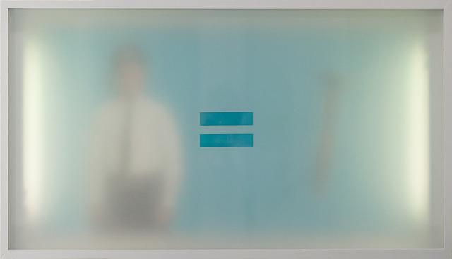 , 'Snowden's Secrets No.1 (blue),' 2011, Lazinc