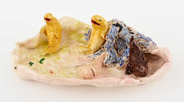 , 'Fish in Dish,' 2016, David Kordansky Gallery