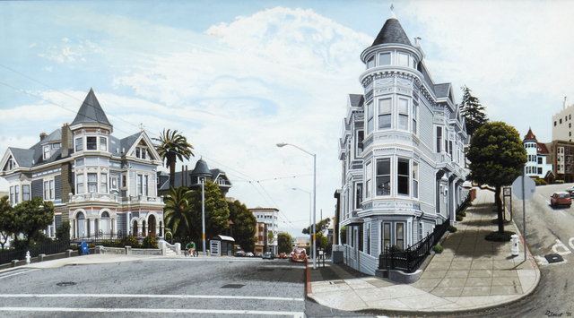 , 'Victorians Haight Street,' 1991, Louis K. Meisel Gallery
