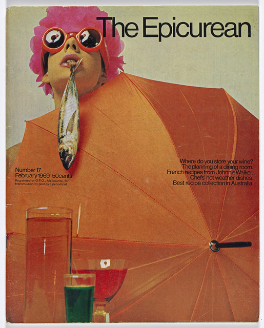 , 'Epicurean Magazine Cover Design Number 17,' 1969, National Gallery of Victoria