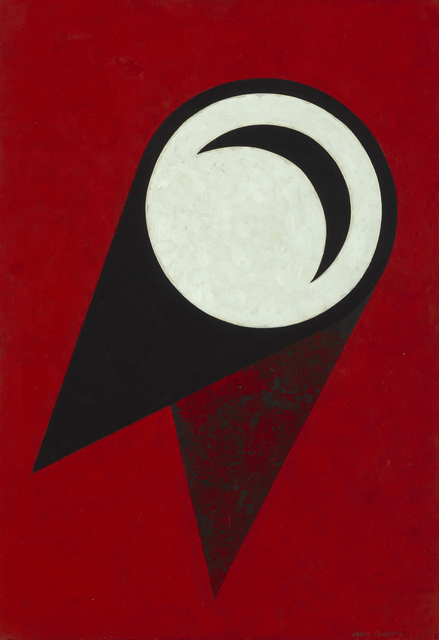 , 'Wall Plate : Red,' 1986, Waddington Custot