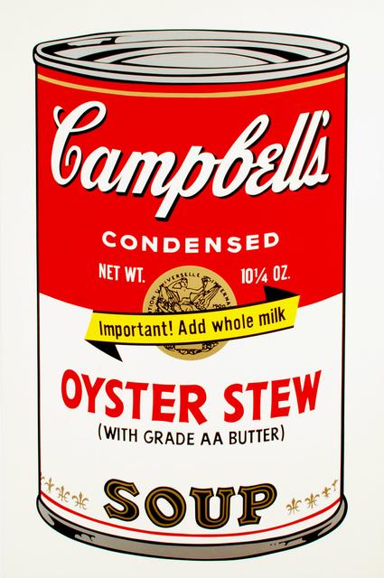 , 'Oyster Stew,' 1969, Brooke Alexander, Inc.
