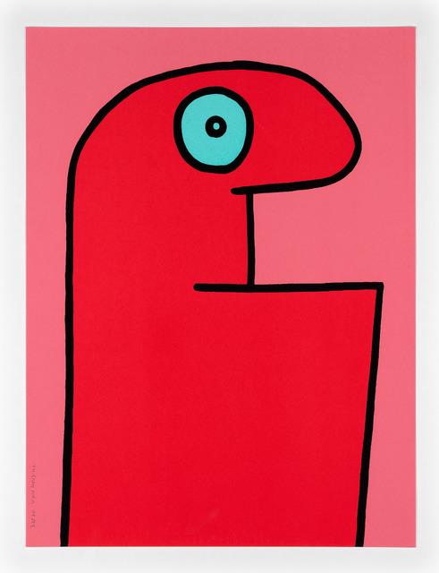 Thierry Noir, 'Red Head. Ed 25.', 2015, Print, Screenprint, Kumi Contemporary / Verso Contemporary