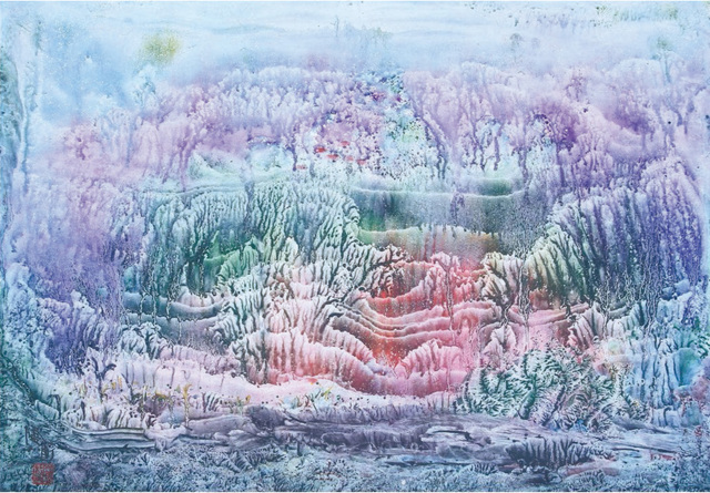 Liu Yitong, 'Late Autumn', Painting, Ink on paper, Arthill Gallery