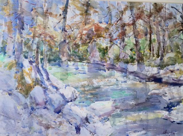 , 'Fall Onion Creek,' 2018, Wally Workman Gallery