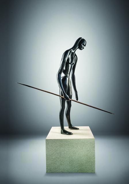 Antonio Signorini, 'Guardiano della Terra', 2018, Sculpture, Bronze - Black Patina, 71 STRUCTURAL ART