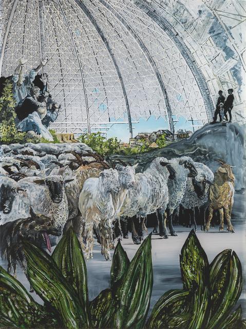 , 'Die Herde,' 2017, Galerie Tore Suessbier
