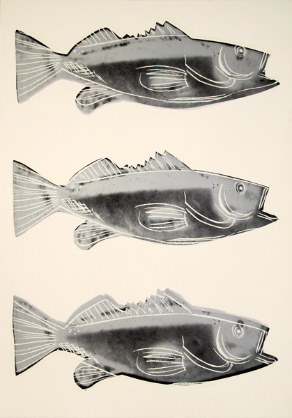 Andy Warhol, 'Fish, III.39', 1983, Hamilton-Selway Gallery Auction