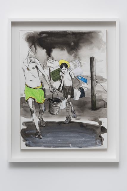 , 'Untitled (Fishermen returning from the Memory of Consciousness),' 2016, Pilar Corrias Gallery