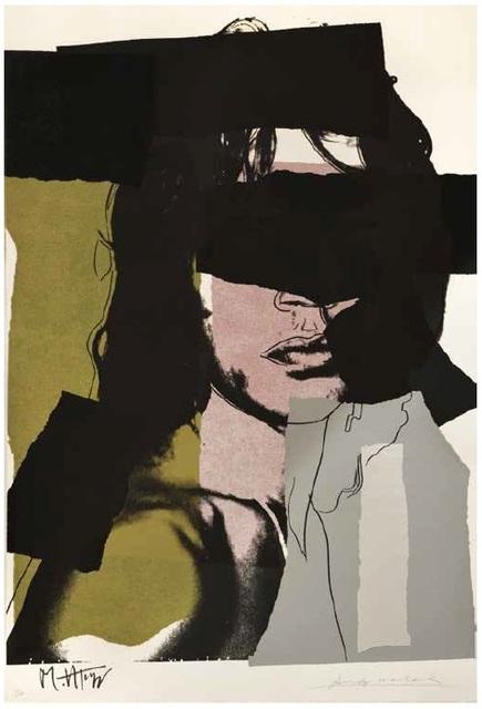 , 'Andy Warhol, Mick Jagger, Screenprint, 1975,' 1975, Shapero Modern