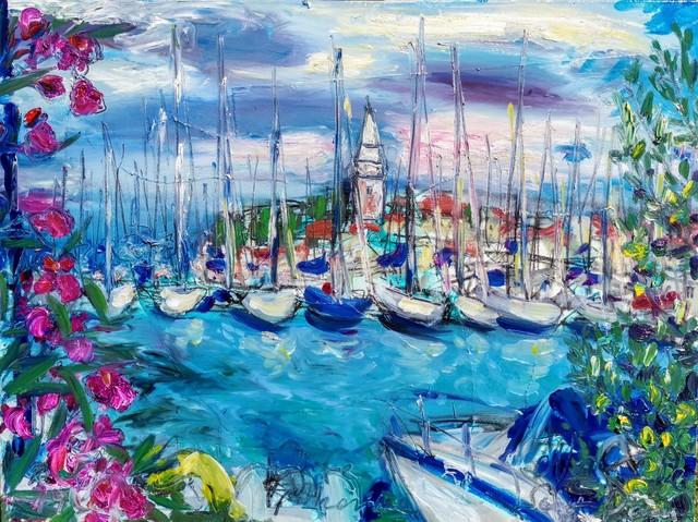 , 'Water series summer 2019 - plein air in situ paintings, Isola, Marina,' 2019, Noravision Gallery