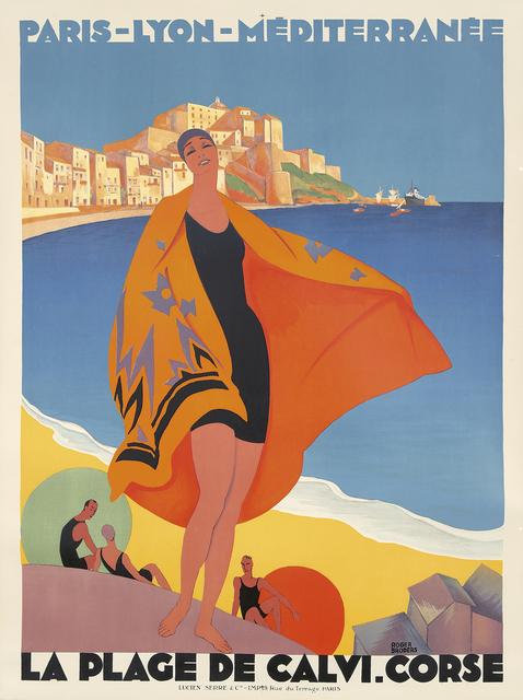 , 'La Plage de Calvi, Corse.,' 1928, Rennert's Gallery