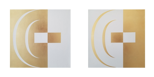 José Ángel Vincench, 'Revolution and Change. Diptych ', 2019, NG Art Gallery