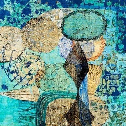 , 'Aqua Vista,' 2014, Duane Reed Gallery