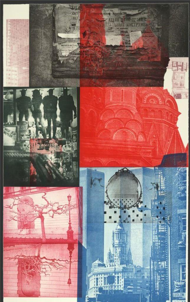 Robert Rauschenberg, 'Soviet / American Array V,' 1990, Zane Bennett Contemporary Art