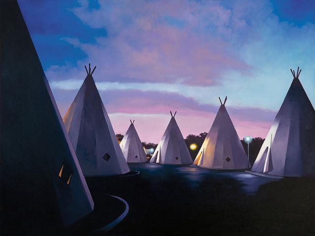 , 'Sunset at the Wigwam Motel, San Bernardino, California,' 2014, Cross Contemporary Art