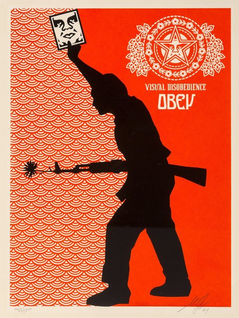 Shepard Fairey, 'Visual Disobedience', 2004, Heritage Auctions