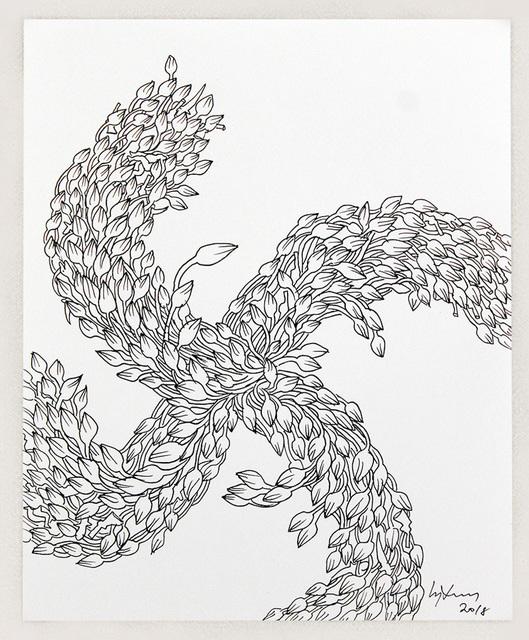, 'Lotus Swasthika,' 2018, Saskia Fernando Gallery