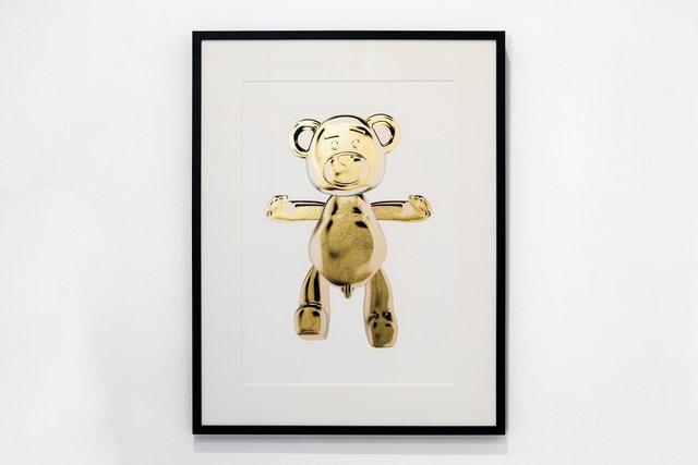 Joseph Klibansky, 'Bear Hug Silkscreen', 2019, HOFA Gallery (House of Fine Art)