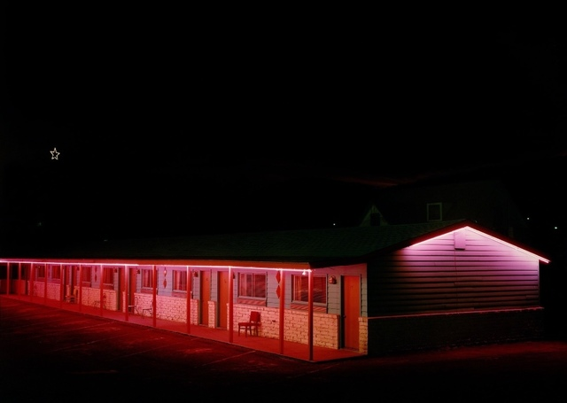 , 'Capri Motel, Highway 87, Raton, New Mexico, December 18,' 1980, Kopeikin Gallery
