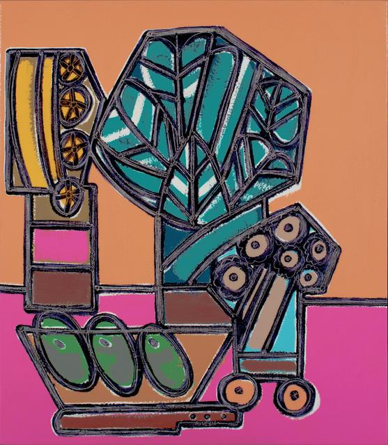 America Martin, 'Three Avocados and Three Jars Full of Flowers', 2019, JoAnne Artman Gallery