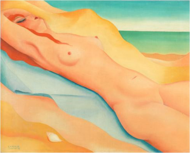 , 'Sur la plage,' 1931, BAILLY GALLERY