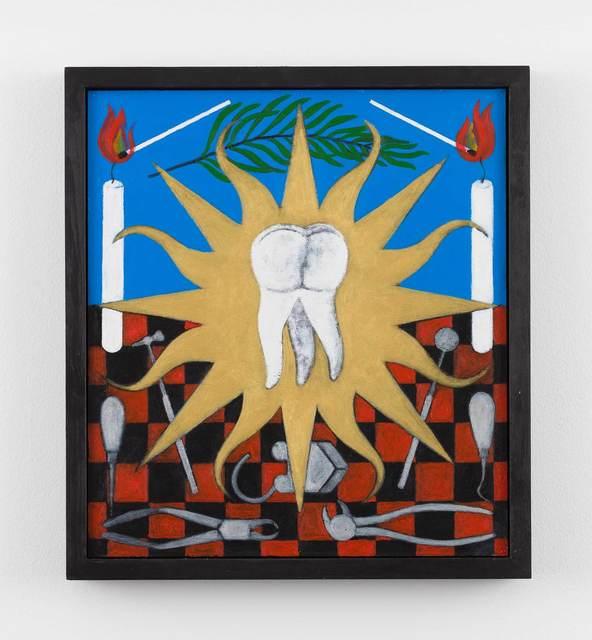 , 'Adoration of St Apollonia,' 2018, Stephen Friedman Gallery