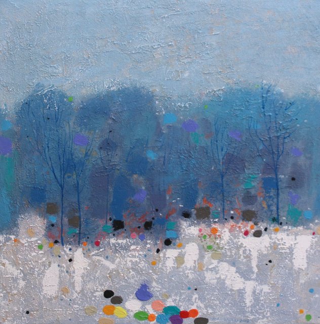 , 'Winter Forest,' , Madrona Gallery