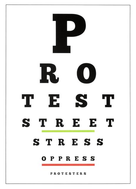 , 'Carta Visual (Protest),' 2019, Polígrafa Obra Gráfica