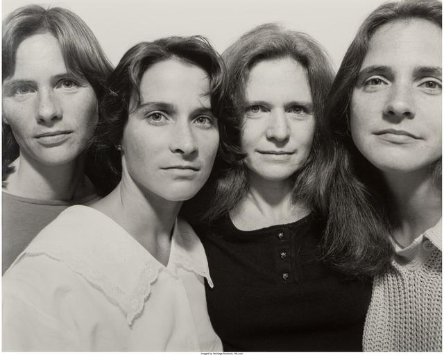 Nicholas Nixon, 'The Brown Sisters, Cambridge', 1986, Heritage Auctions