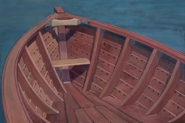 , 'Roskilde 19 ft. Eel Boat,' , Dowling Walsh