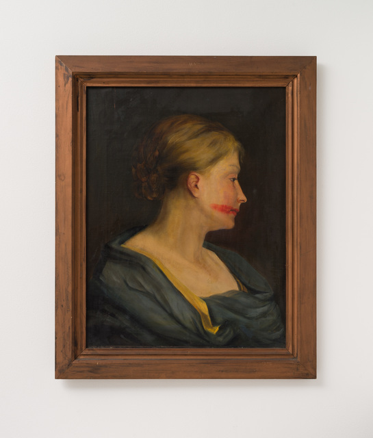 , 'Woman portrait with lipstick,' , Galleria Massimo Minini