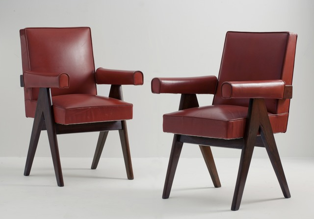 , 'Pair of Committee Armchairs,' ca. 1953, Maison Gerard