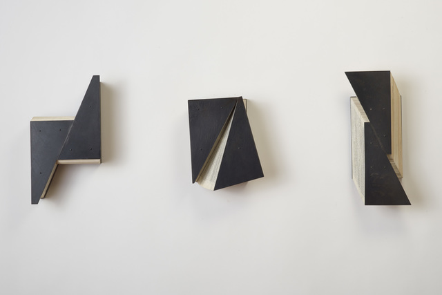, 'Diagonal Study Tryptic,' 2015, Seager Gray Gallery
