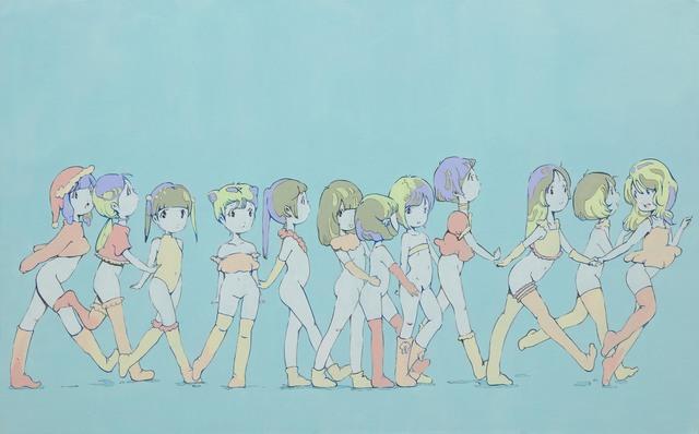 Kato Ai, 'Blue Wall–SHIASU–', 2015, Mizuma Art Gallery
