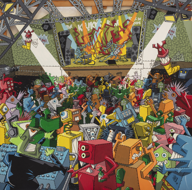 Kriki, 'Le Concert', 1988, Millon
