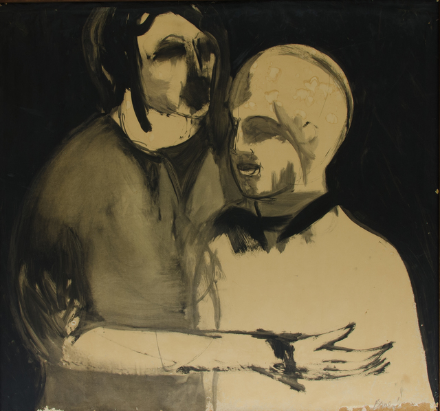 Michael Bowen, 'Two people', Unknown, The Art Collection of the University of Agder