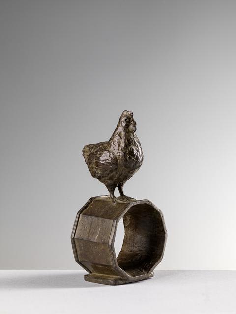 , 'HEN NAPKIN RING 'GALLINA',' 2016, Sladmore Contemporary