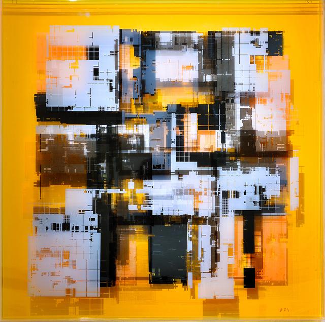 , 'Geometric space / b/w,' 2018, Galleria Varsi