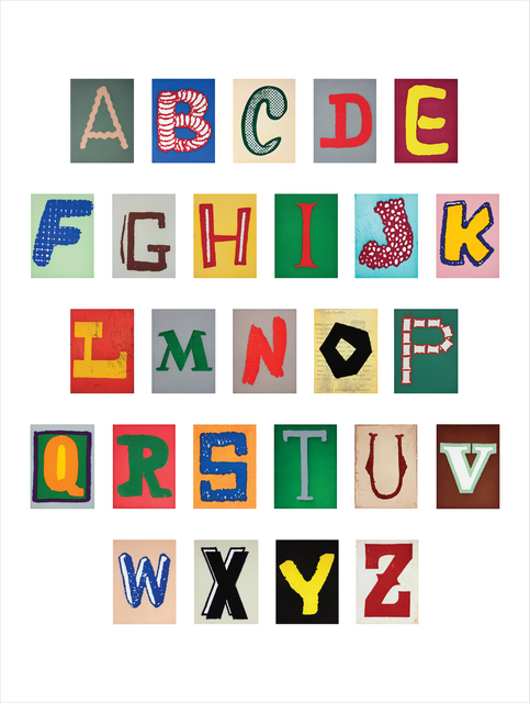 , 'ALPHABET, (Portfolio),' 2003, Paulson Fontaine Press