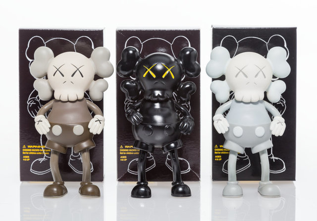 KAWS, 'Companion (Black)', 1999, Other, Painted cast vinyl, Heritage Auctions
