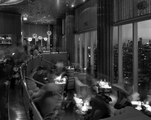 , 'Cocktails at the Top of the Standard, The Standard Hotel, New York,' 2011, Benrubi Gallery